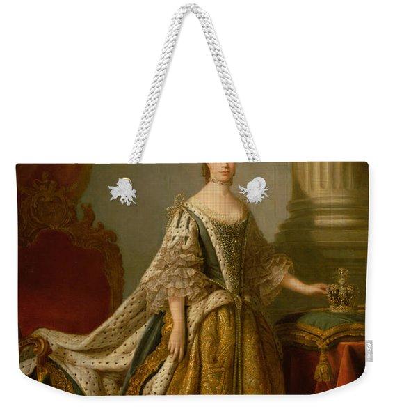 Queen Charlotte, C.1762-64 Oil On Canvas Weekender Tote Bag