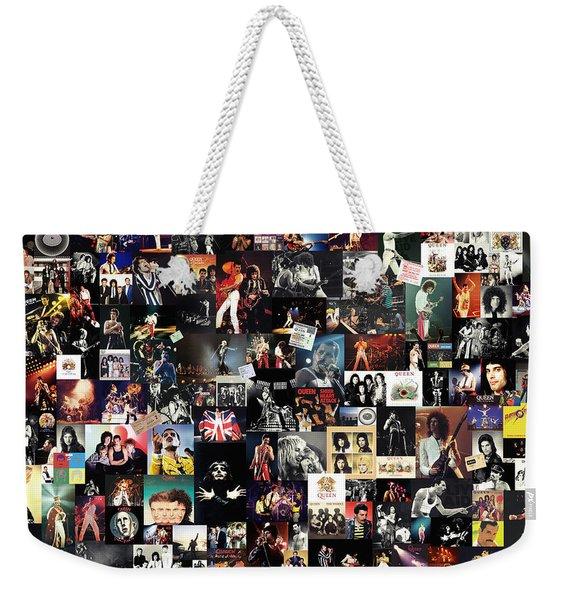 Queen Collage Weekender Tote Bag