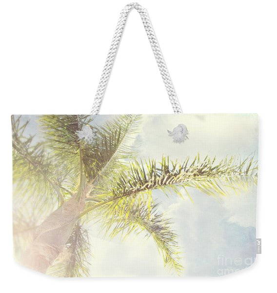 Queen Palm Weekender Tote Bag