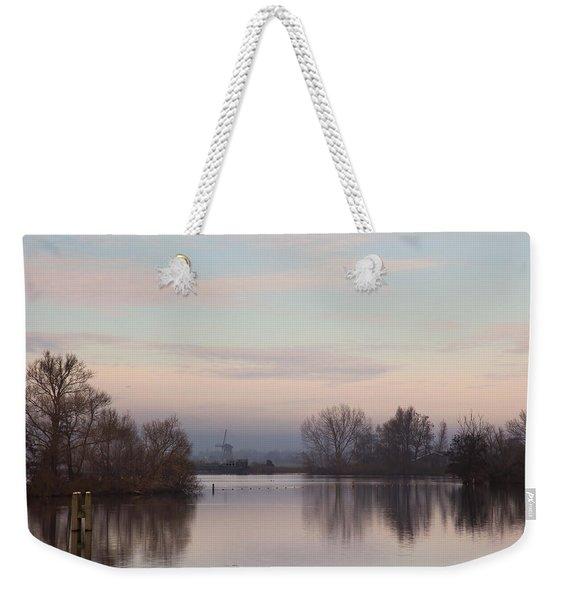 Quiet Morning Weekender Tote Bag