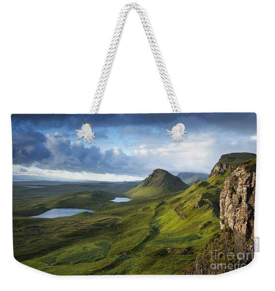 Quiraing Dawn Weekender Tote Bag