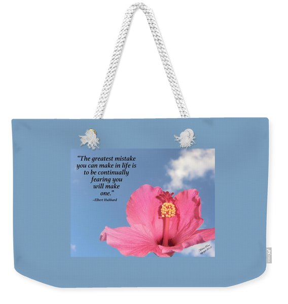 Quotes For The Soul Weekender Tote Bag