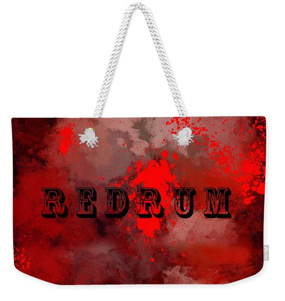 R E D R U M - Featured In Visions Of The Night Group Weekender Tote Bag