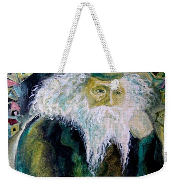 Rabbi Yosef Rosen The Rogatchover Gaon Weekender Tote Bag