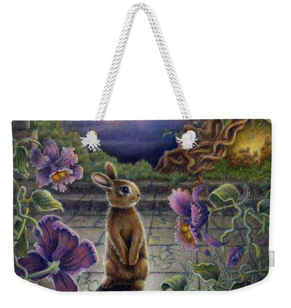 Rabbit Dreams Weekender Tote Bag