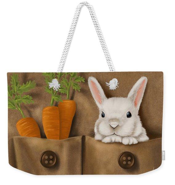 Rabbit Hole Weekender Tote Bag