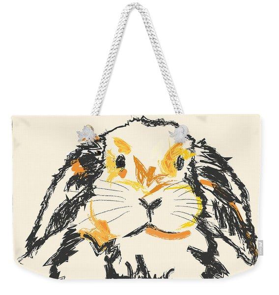 Rabbit Jon Weekender Tote Bag