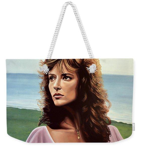 Rachel Ward Weekender Tote Bag