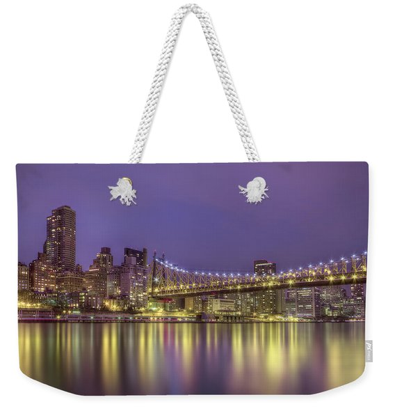 Radiant City Weekender Tote Bag