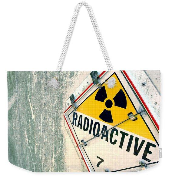 Radioactive Warning Sign Weekender Tote Bag