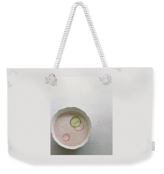 Radish Buttermilk Soup Weekender Tote Bag