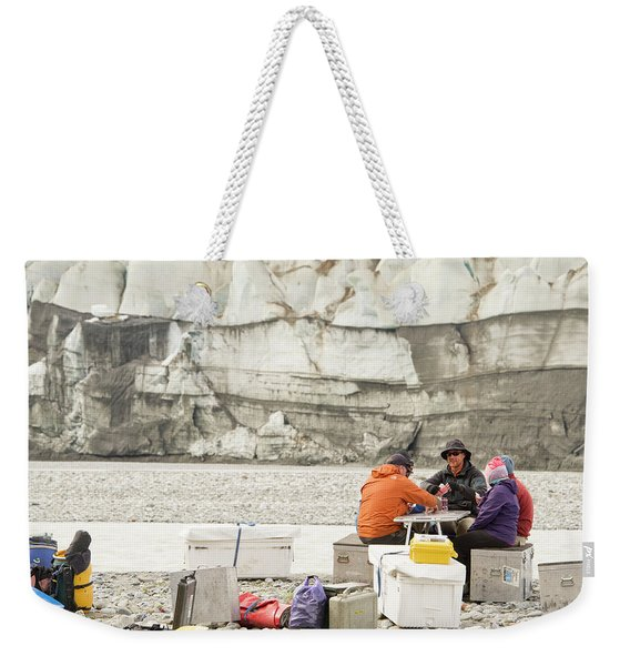 Rafters Playing Cards While Waiting Weekender Tote Bag