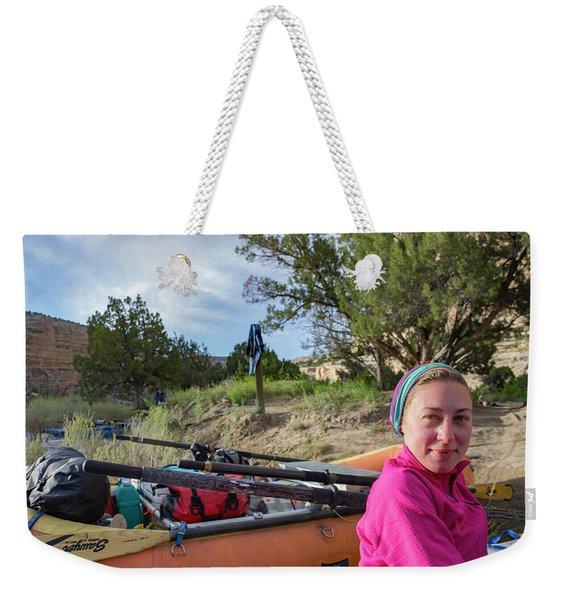 Rafting The Yampa Weekender Tote Bag