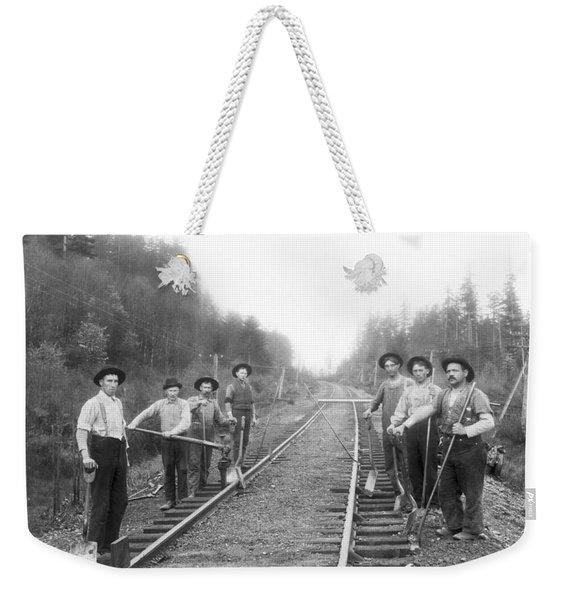 Railroad Workers Weekender Tote Bag