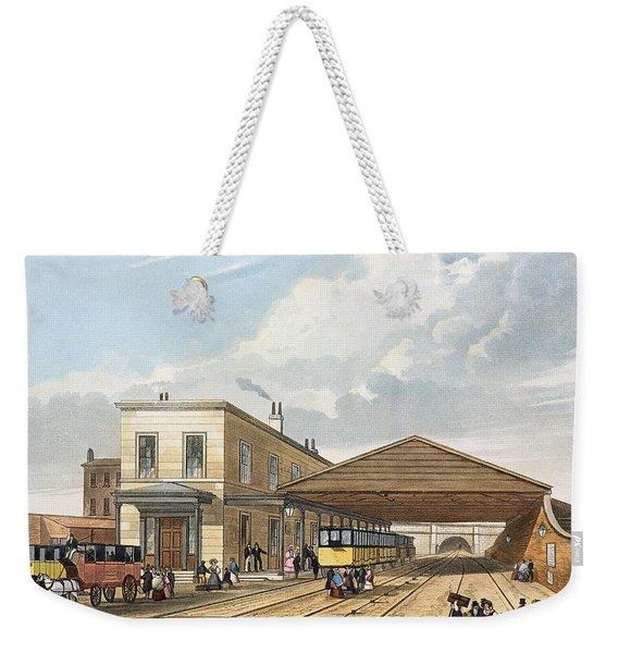Railway Office, Liverpool, Plate 8 Weekender Tote Bag