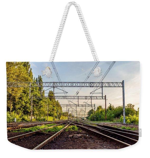 Railway To Nowhere Weekender Tote Bag