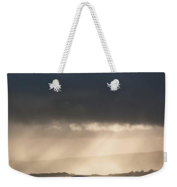 Rain Clouds Over Dartmoor Weekender Tote Bag