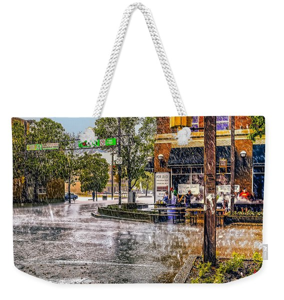 Rainy Day. Weekender Tote Bag