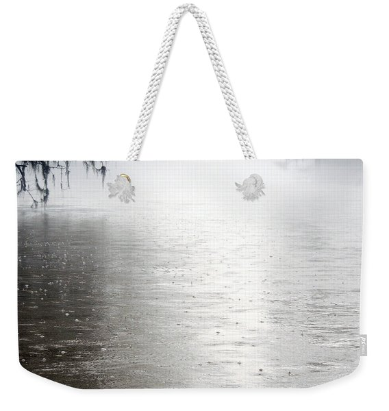 Rain On The Flint Weekender Tote Bag