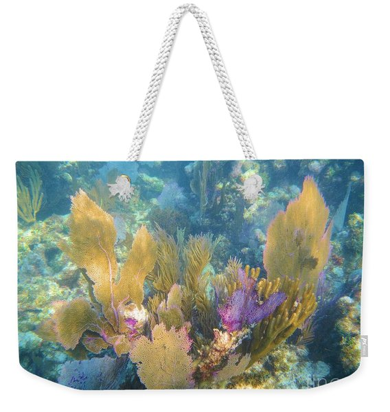 Rainbow Forest Weekender Tote Bag