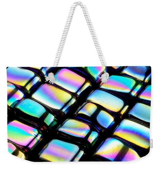 Rainbow Hematite Weekender Tote Bag