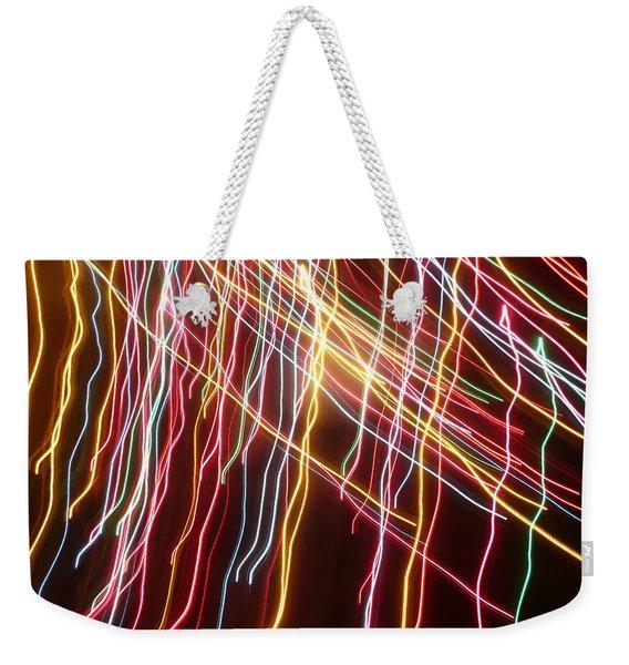 Rainbow Spirits Weekender Tote Bag
