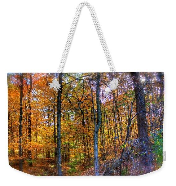 Rainbow Woods Weekender Tote Bag