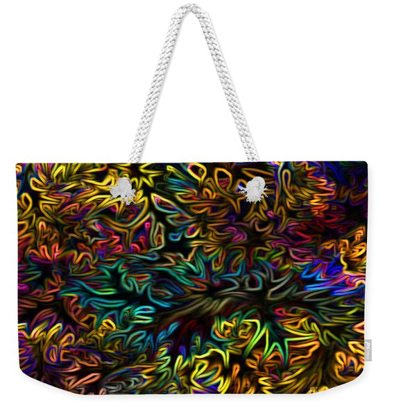 Rainbows In The Forest Weekender Tote Bag