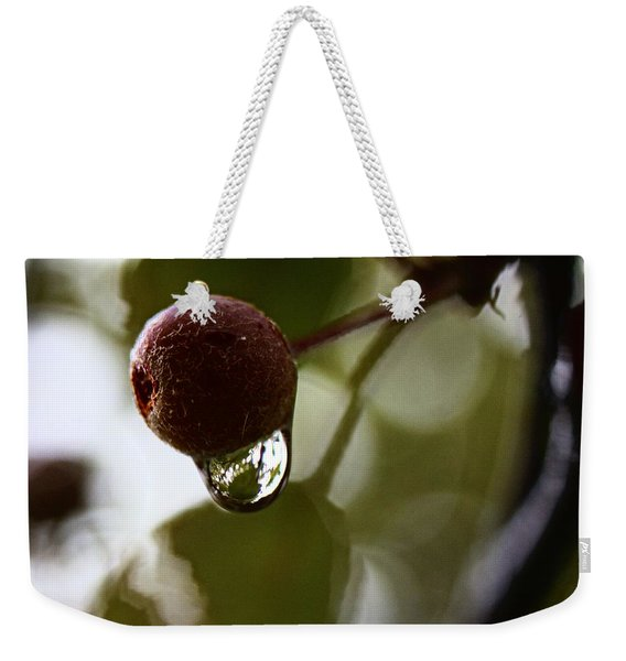 Raindrop Reflection 1 Weekender Tote Bag