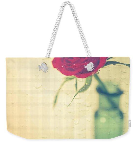 Raindrops On Roses . . . Weekender Tote Bag
