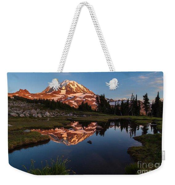 Rainier Last Light Weekender Tote Bag
