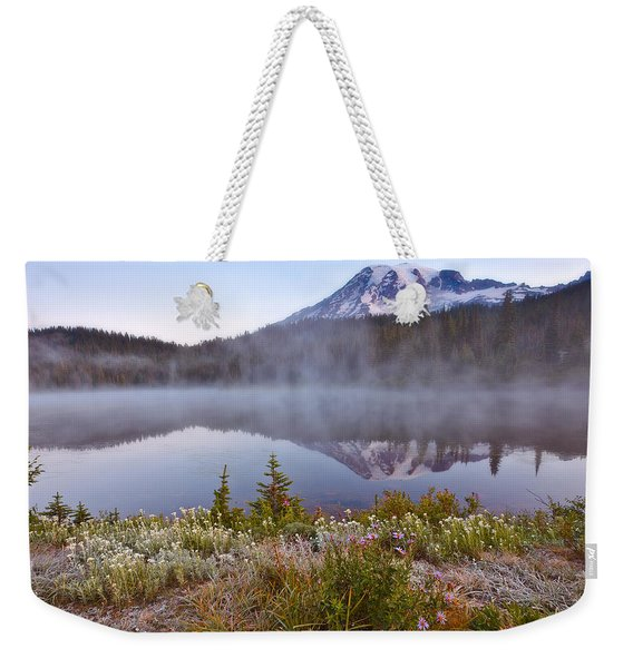 Rainier Morning Weekender Tote Bag