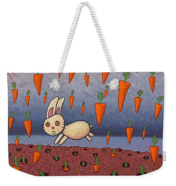 Raining Carrots Weekender Tote Bag