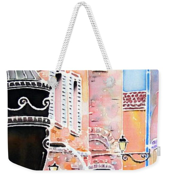 Raining In St-paul De Vence Weekender Tote Bag