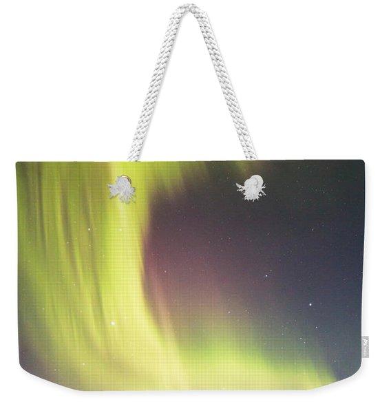 Raining Lights On Rainy Lake Weekender Tote Bag