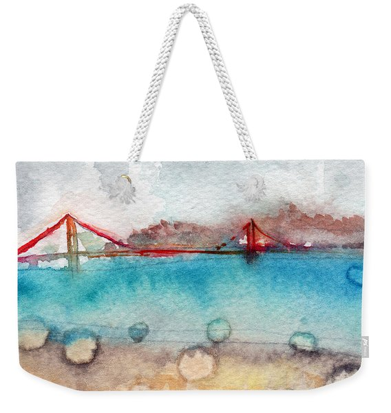 Rainy Day In San Francisco  Weekender Tote Bag