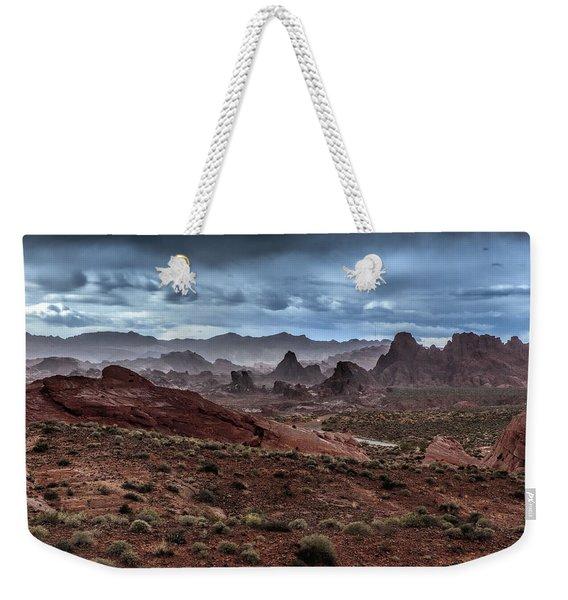 Rainy Day In The Desert Weekender Tote Bag