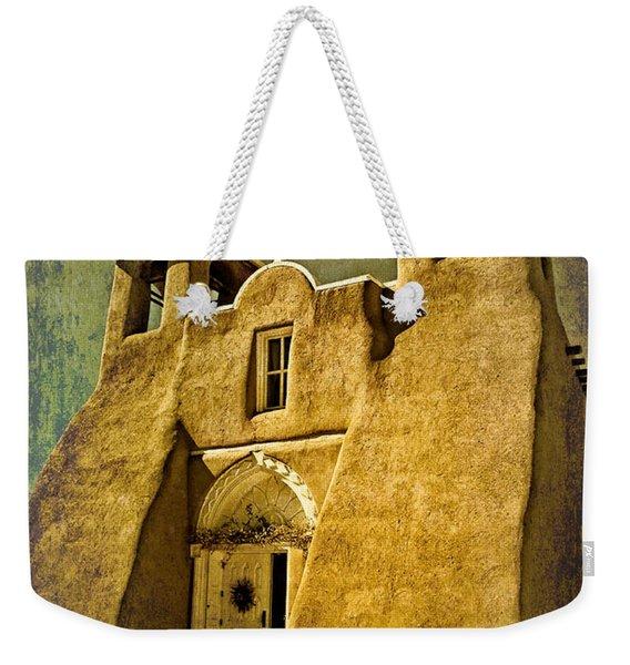 Ranchos Church In Old Gold Weekender Tote Bag