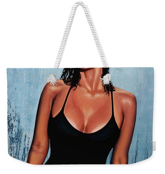 Raquel Welch Weekender Tote Bag