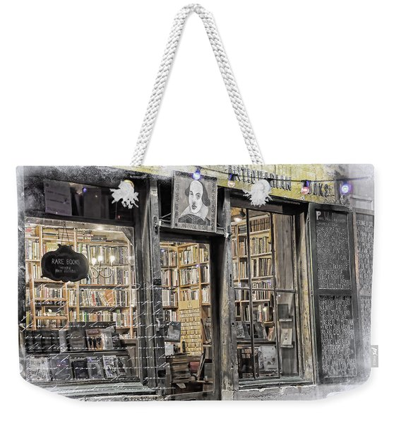 Rare Books Latin Quarter Paris France Weekender Tote Bag