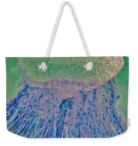 Rasta Mama Purplegreen  Weekender Tote Bag