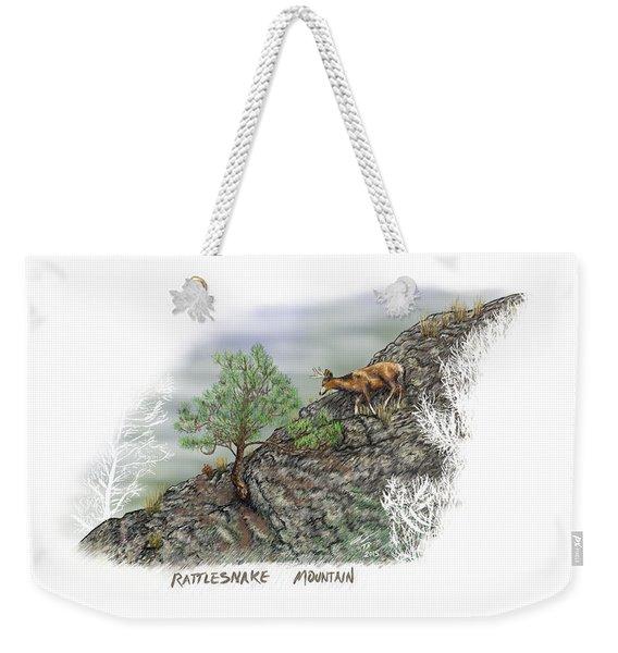 Rattlesnake Mountain Weekender Tote Bag