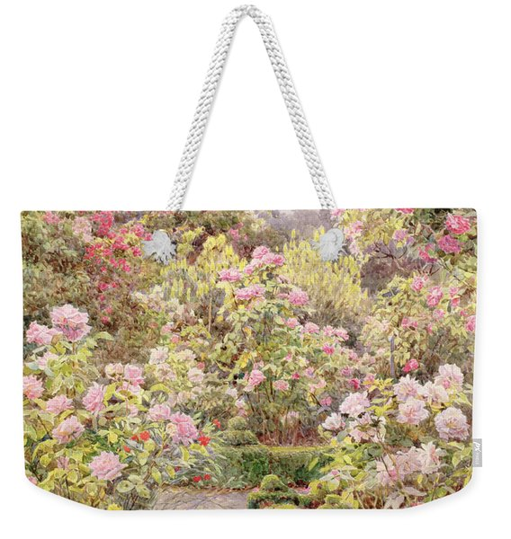 Raundscliffe - Everywhere Are Roses Weekender Tote Bag