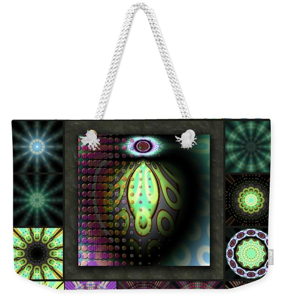 Ravaged Visions Redux Weekender Tote Bag