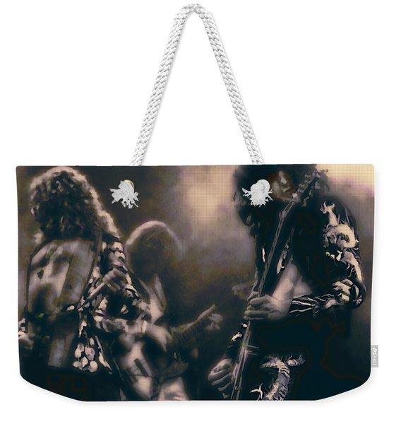 Raw Energy Of Led Zeppelin Weekender Tote Bag