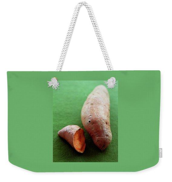 Raw Sweet Potatoes Weekender Tote Bag
