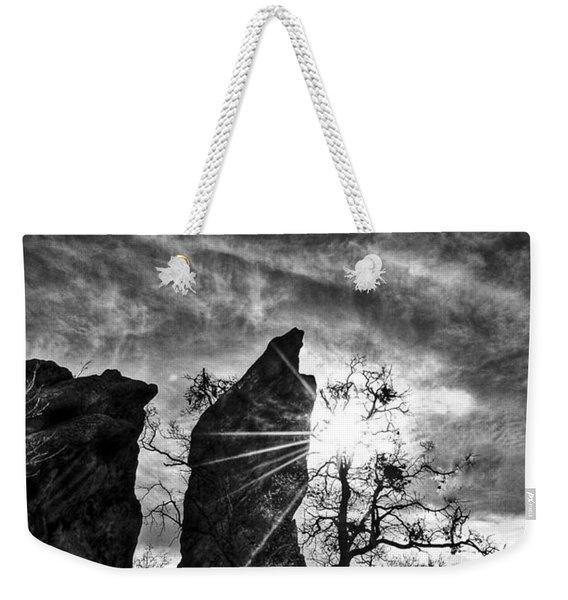 Rays Weekender Tote Bag