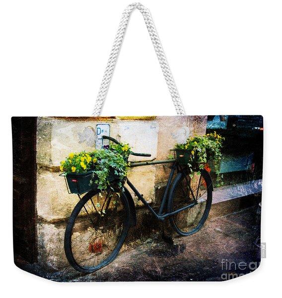 Re-cycle Weekender Tote Bag