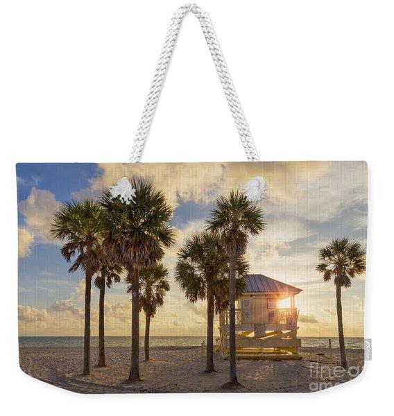 Reach The Dawn Weekender Tote Bag