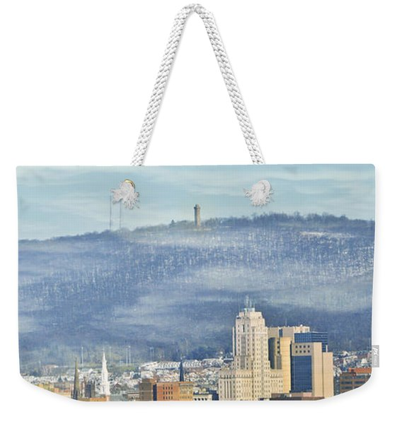 Reading Skyline Weekender Tote Bag